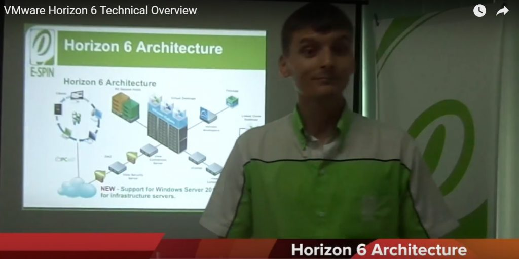 VMware Horizon 6 Technical Overview
