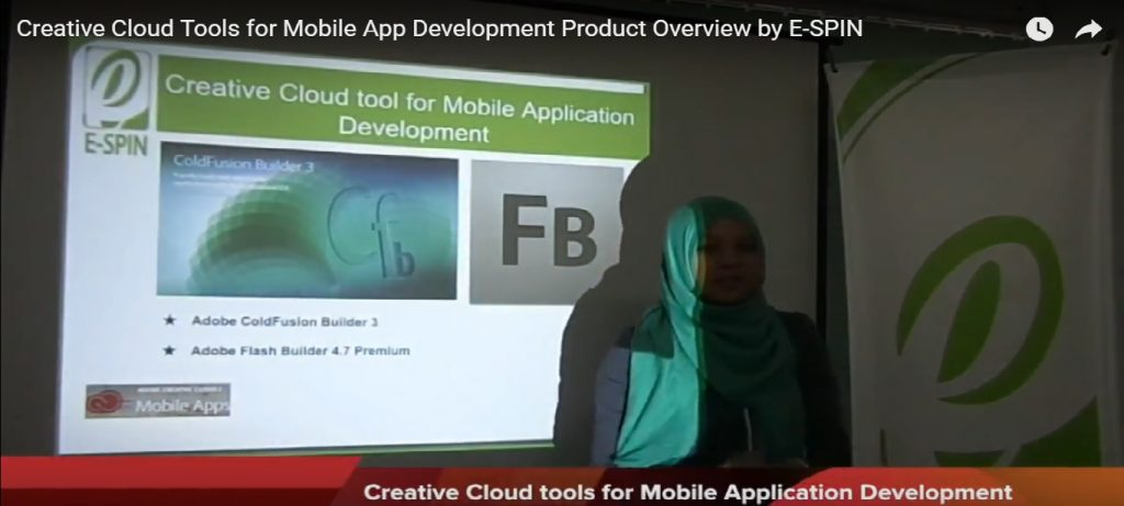 Creative Cloud Tools for Mobile App Development Product Overview by E-SPIN