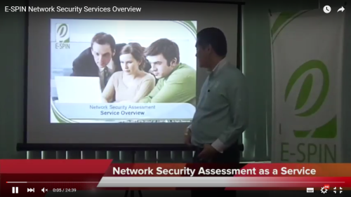 E-SPIN Network Security Services Overview