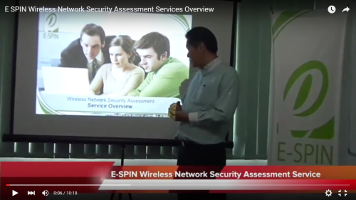 E-SPIN Wireless Network Security Assessment Services Overview