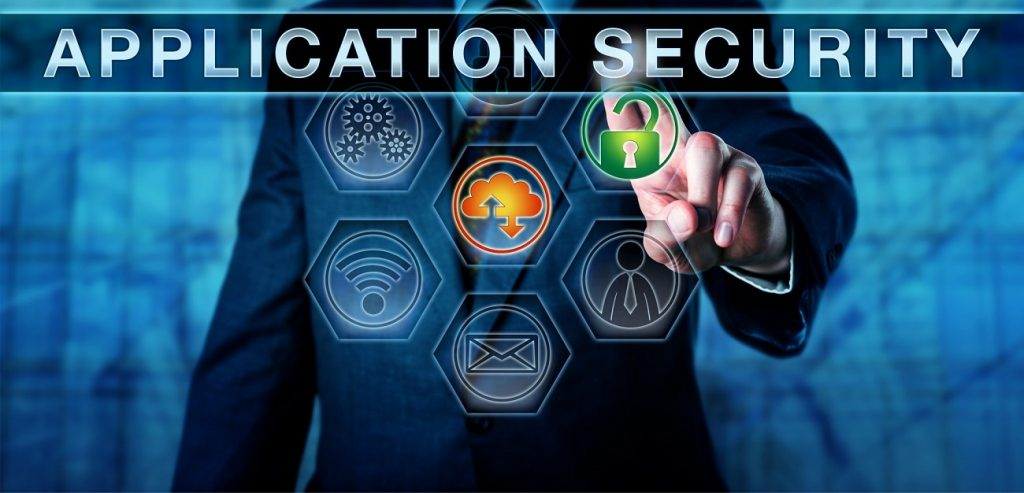 what is definition of application security